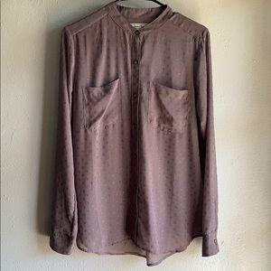 Abercrombie & Fitch women's medium sheer blouse.